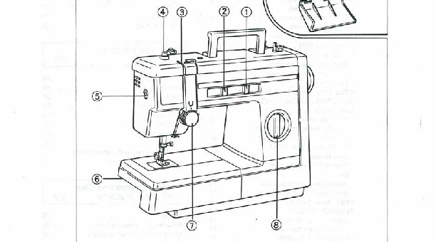 Brother VX_807_810 Sewing Machine Instruction Manual for