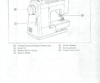 Brother VX Sewing Machine Instruction Manual for Download