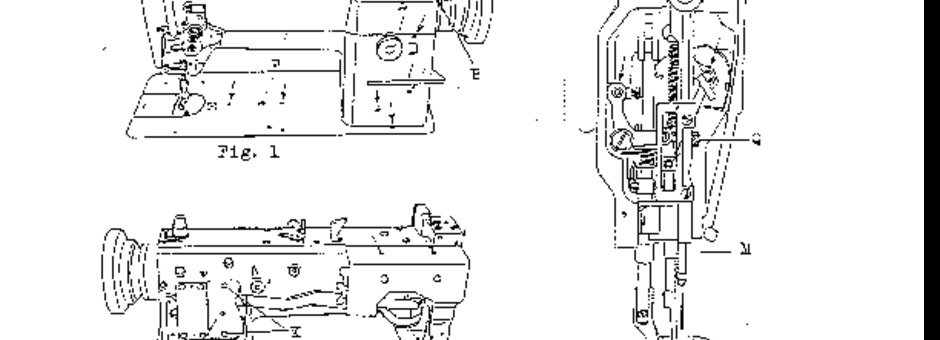 Consew 206RBL-25 Sewing Machine Instruction Manual for