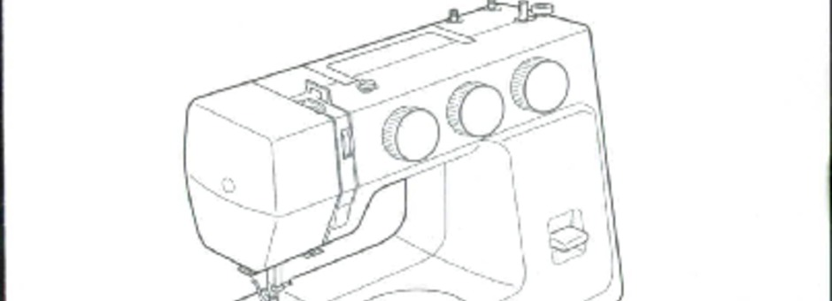 Janome 1571 Sewing Machine Instruction Manual for Download