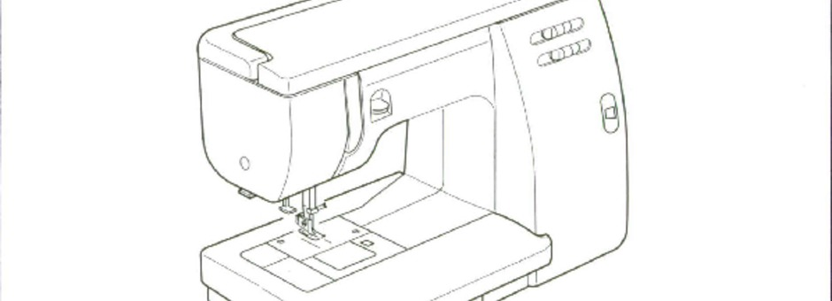 Janome 6019-QC Sewing Machine Instruction Manual for
