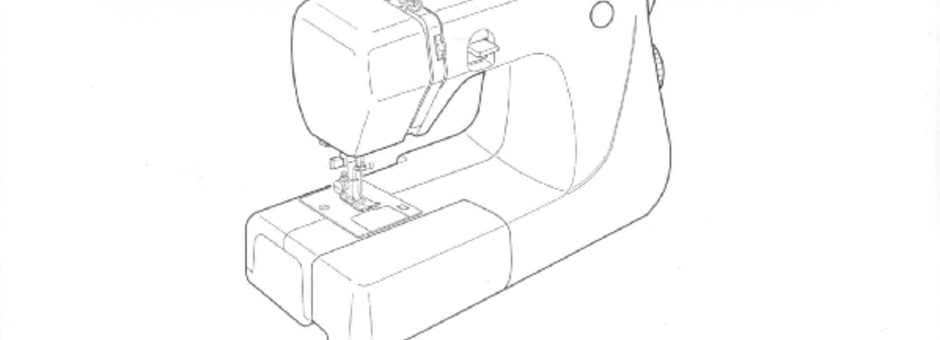 Janome JEM-GOLD-MODEL-660 Sewing Machine Instruction