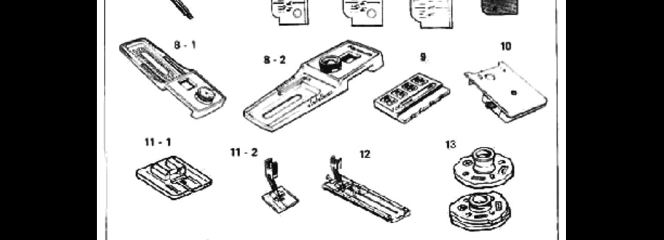 Kenmore 158 Sewing Machine Instruction Manual for Download