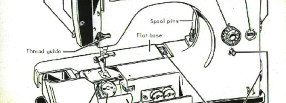 Necchi 542-544 Sewing Machine Instruction Manual for
