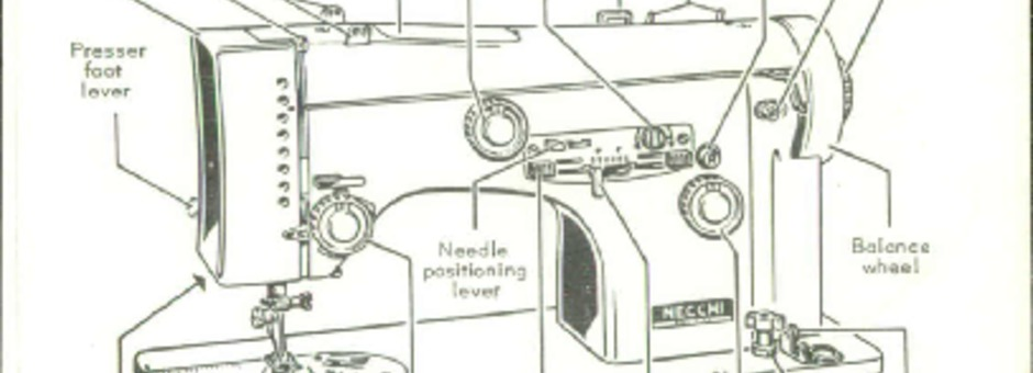 Necchi 555 Sewing Machine Instruction Manual for Download