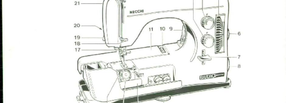 Necchi 584-586-SILVIA-MULTIMATIC-MAXIMATIC Sewing Machine