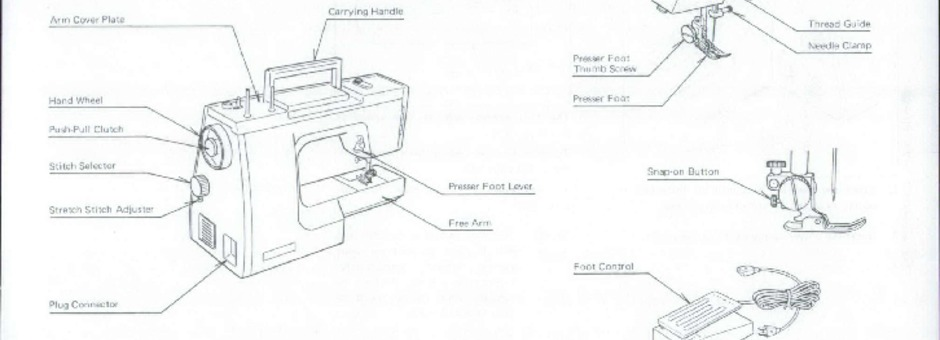 New Home 652 Sewing Machine Instruction Manual for