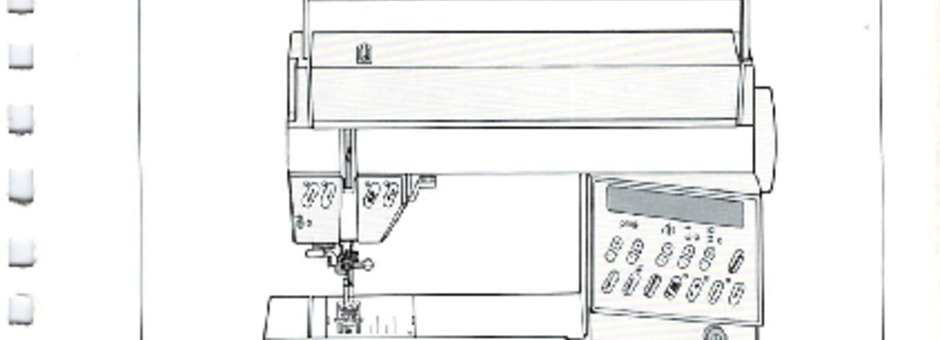 Pfaff 1472 Sewing Machine Instruction Manual for Download