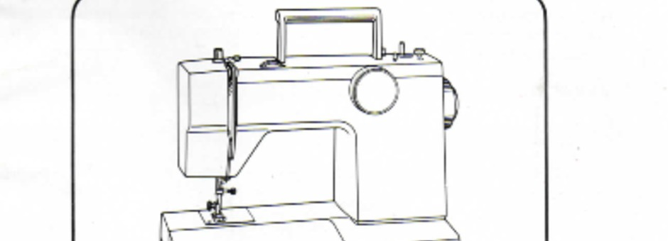 Toyota 2640 Sewing Machine Instruction Manual for Download
