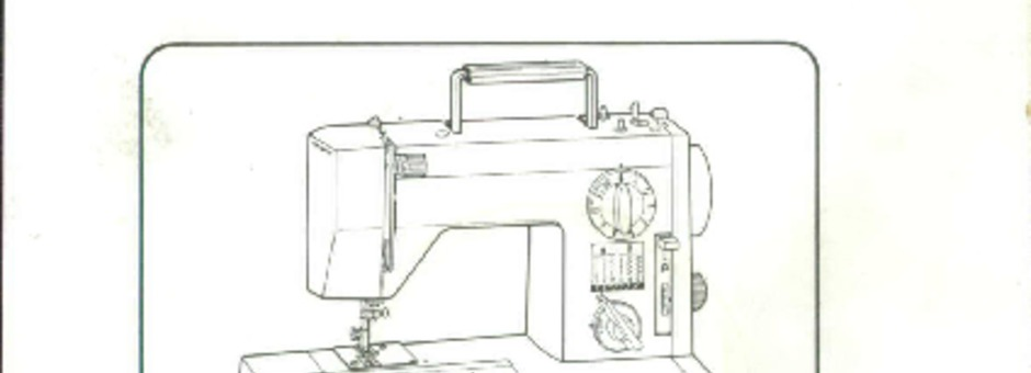 Toyota 6600-6602-7660 Sewing Machine Instruction Manual
