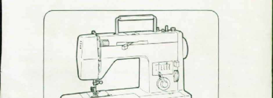 Toyota 7001-7002-7700 Sewing Machine Instruction Manual