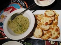 Spinach Artichoke Jalapeno Hummus