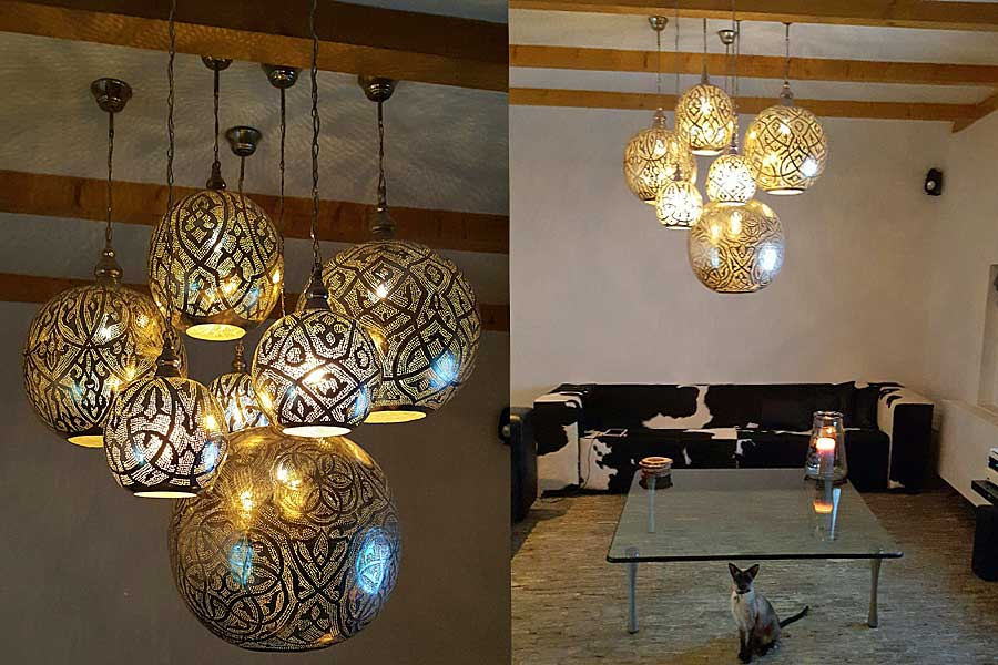 Examples Egyptian lights