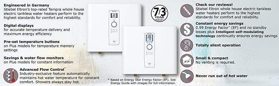 Stiebel Eltron Tankless Water Heater 1