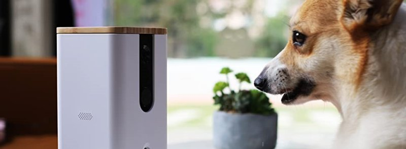 DOGNESS Wi Fi Pet Camera Treat Dispenser