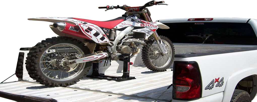 Black Lock N Load Strapless Motocross Transport System 1