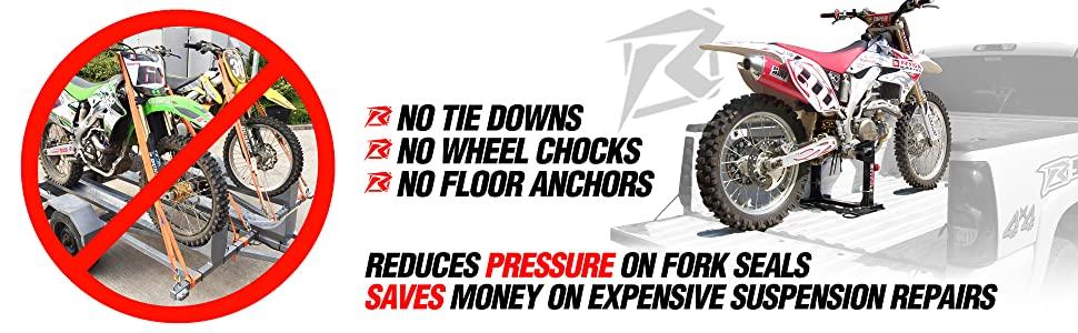 Risk Racing Lock N Load Strapless Motocross Transport System