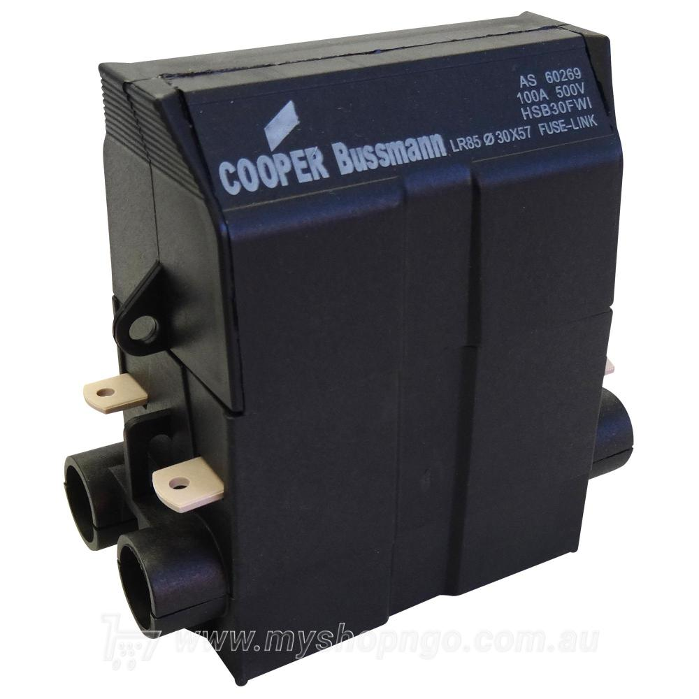 medium resolution of cooper bussmann hsb30fwi house service fuse holder 100amp touch to zoom