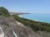 Overlooking Eraclea Minoa to the east.