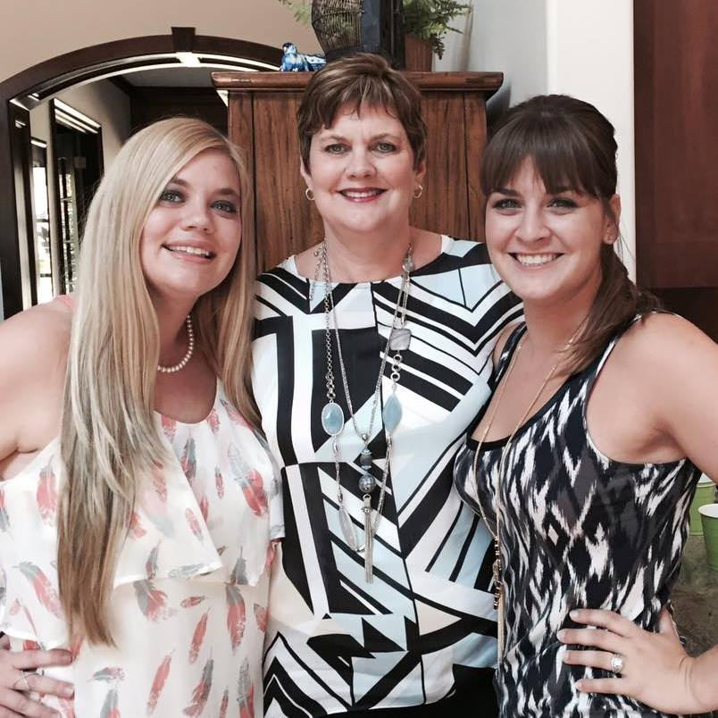 Cathy Lawdanski with daughters Amy & Allison mysideof50.com