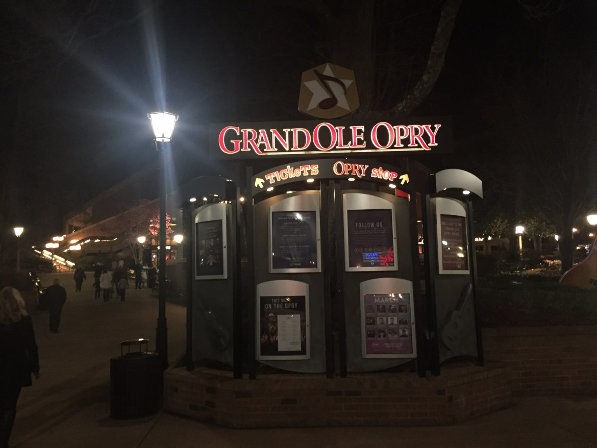 The Historic Grand Ole Opry in Nashville