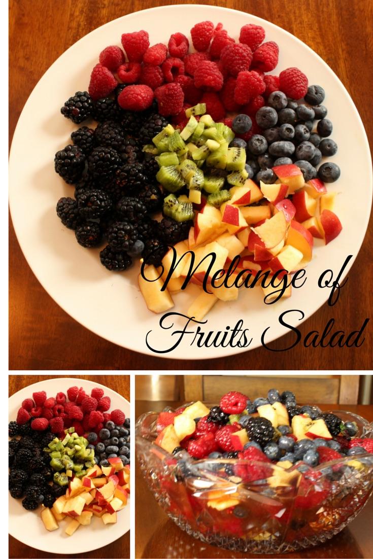 Melange of Fruits Salad