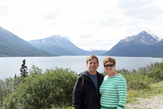 Scenic Views on White Pass and Yukon Route Railway Alaskan Cruise Shore Excursion