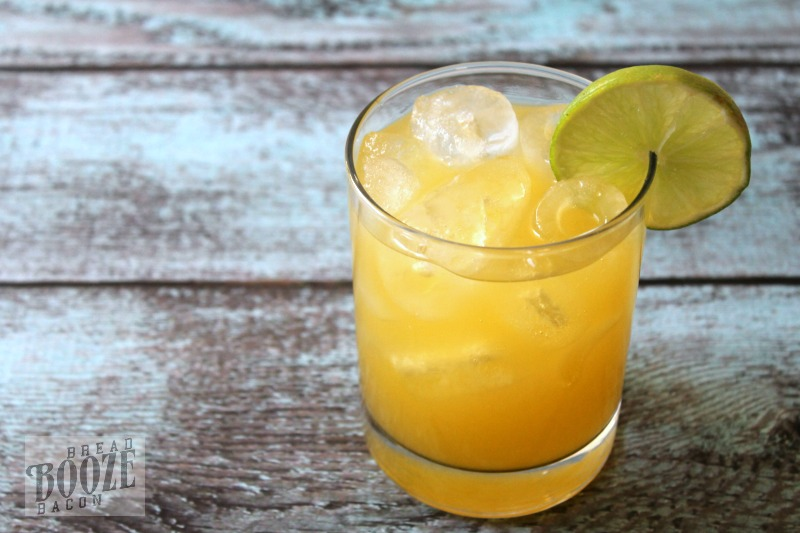 Mocktail version of Mango Libre - mango nectar, limeade concentrate, lemon-lime soda