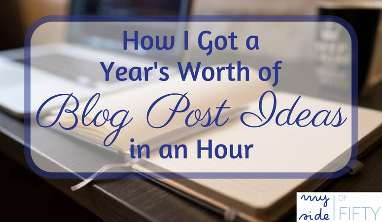 Get A Year's Worth of Blog Post Ideas In an Hour by Defining Your Ideal Reader