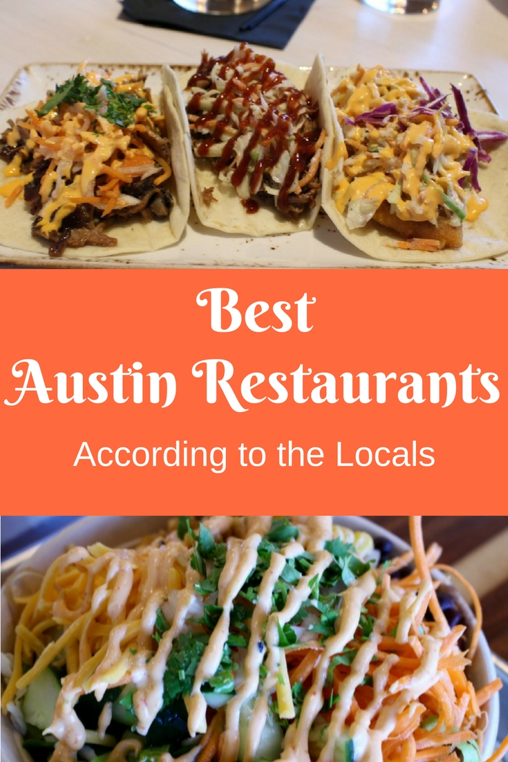 The Best Austin Restaurants According to the Locals | The Peached Tortilla | Foreign & Domestic | Noble Sandwich Co. | Chi'Lantro | Gourdough's