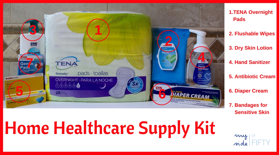 Home Healthcare Supplies For Elderly Patients | How to Make a Kit | Incontinence Products | Incontinence Pads | Elderly Caregiver | Aging Parents Caregiver | Caregiving Tips | Elderly Medical Supplies | Alzheimers | Dementia #shop #ad #ChooseTENA