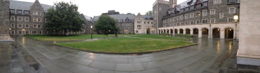 Whitman is still beautiful on a dreary day