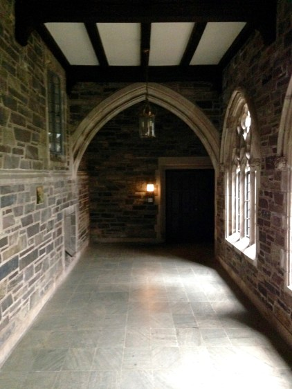 Passageway leading to the Van Dyke Library