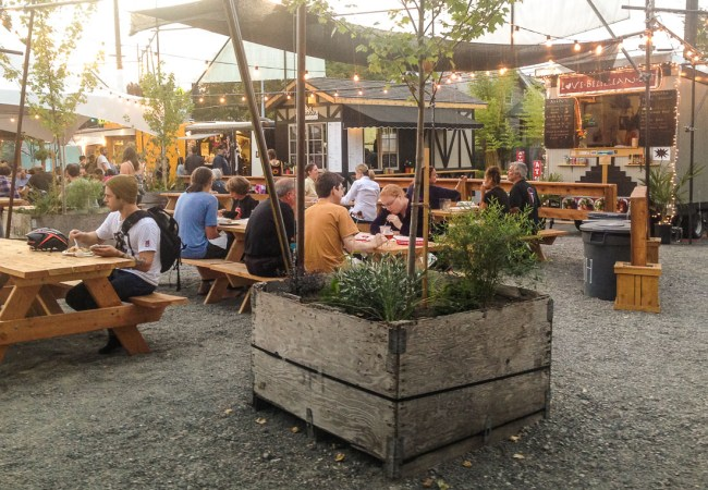 Amazing Food, A Beer Garden & Great Shopping – All At One Place!