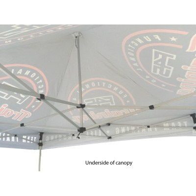 Event Tent Under Canopy View