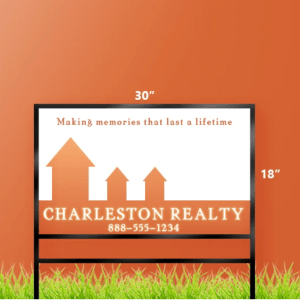 18 x 30 Real Estate Sign