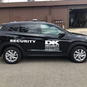 Vehicle Graphics - DK Security