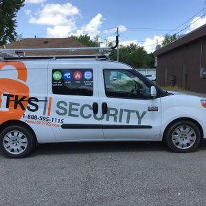 Vehicle Wrap - TKS Security
