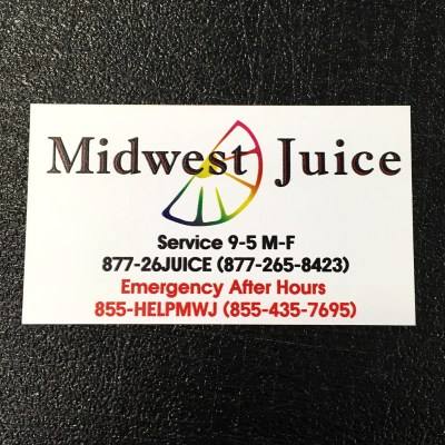 Magnetic Business Card Front