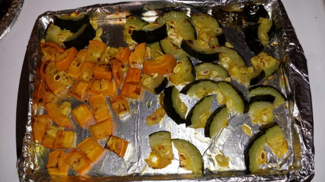 Quick and Easy Oven Roasted Zucchini!