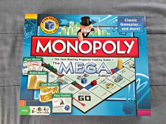 Monopoly MEGA Edition ~ Family Game Series #1