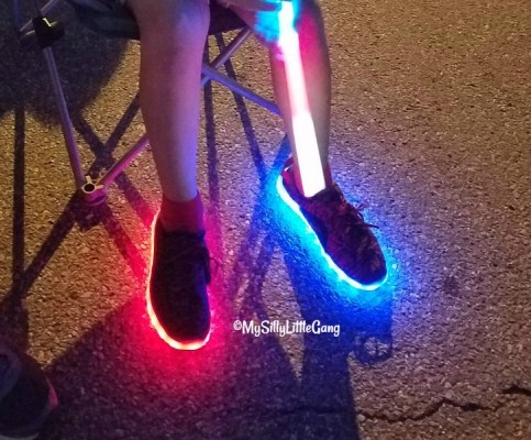 YZ LED Shoes Review