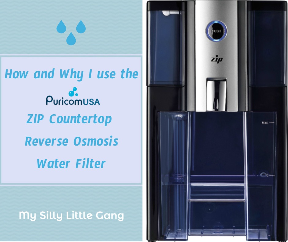 How & Why I use the ZIP Countertop Reverse Osmosis Water Filter