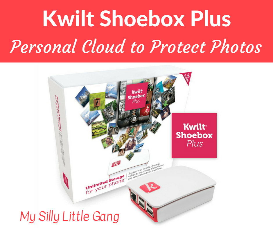 Kwilt Shoebox Plus ~ Personal Cloud to Protect Photos