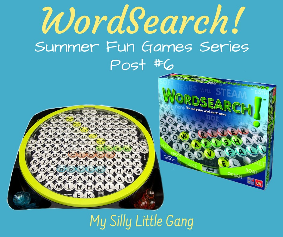 WordSearch! ~ Summer Fun Games Series Post #6