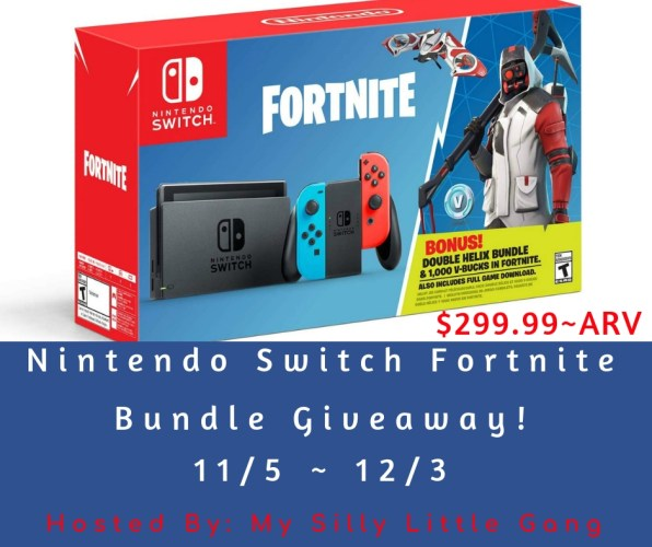 Nintendo Switch Fortnite Bundle Giveaway