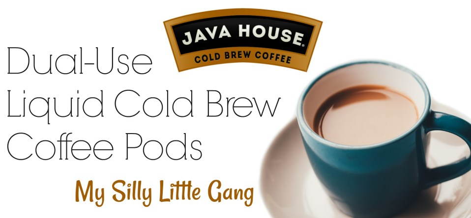 Dual-Use Liquid Cold Brew Coffee Pods