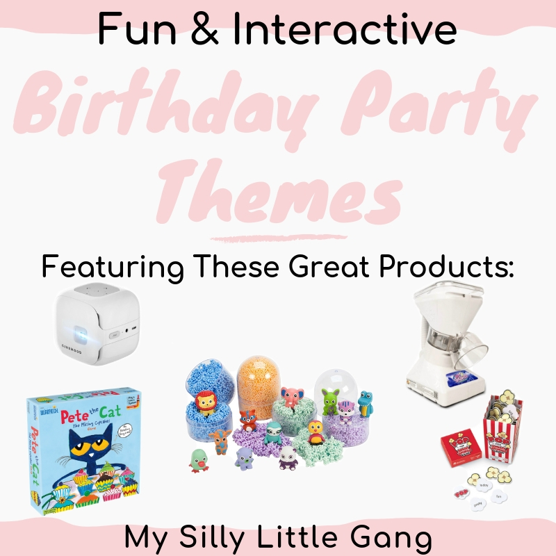 Fun & Interactive Birthday Party Themes