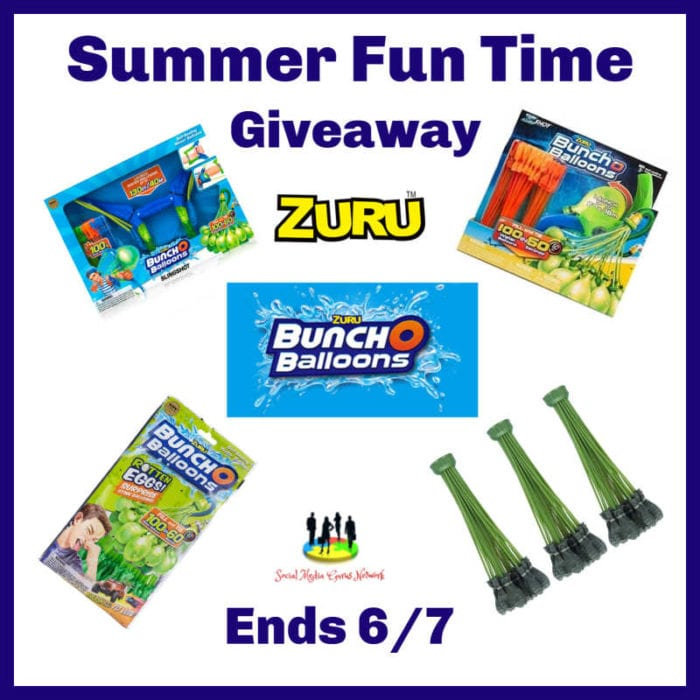 Summer Fun Time Giveaway ~ Ends 6/7 @SMGurusNetwork @las930 @ZURUToys #MySillyLittleGang
