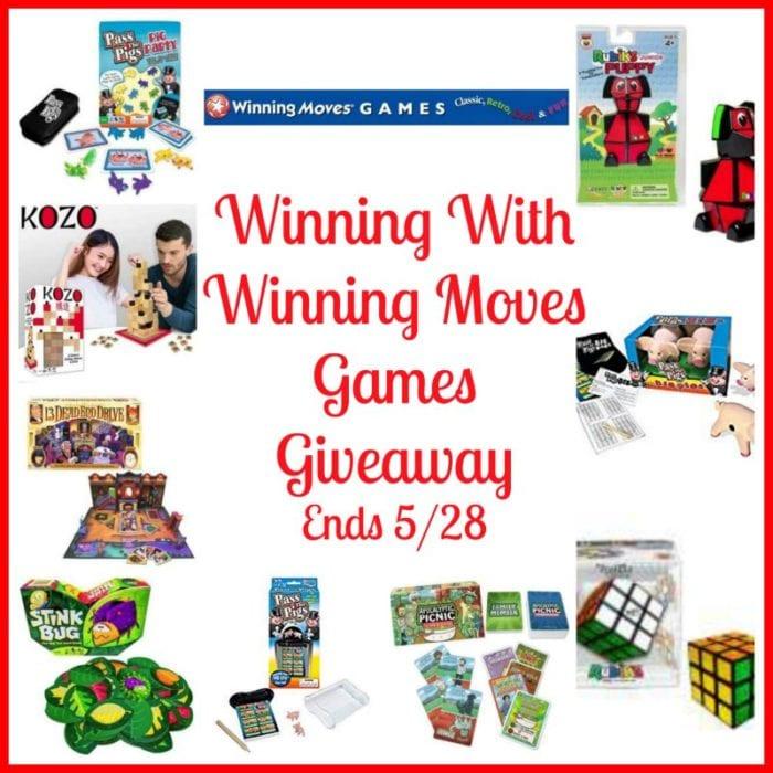 Winning With Winning Moves Games Giveaway ~ Ends 5/28 @SMGurusNetwork @las930 @winningmovesusa #MySillyLittleGang